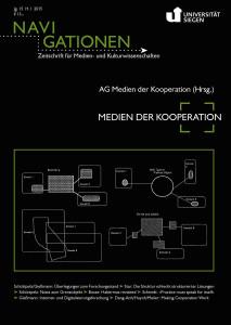 Cover Medien der Kooperation