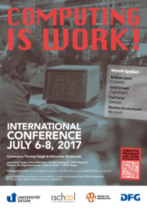 Computing is Work! poster