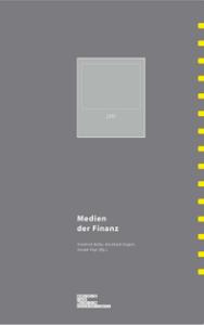 Cover Archiv für Mediengeschichte