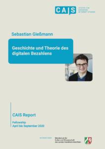 Cover CAIS Report Geschichte und Theorie des digitalen Bezahlens